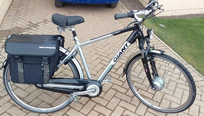 Ebay Auction For A Reconditioned Ex Lease Electric Bike For Charity Sustainable Travel Solutions Leased Electric Bikes